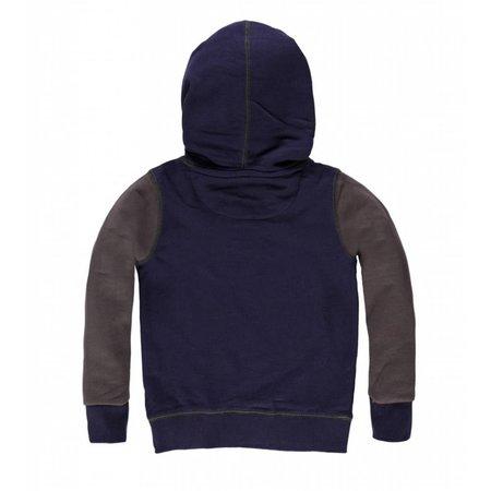 Petrol Industries sweater twisted hood navy