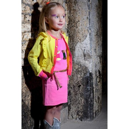 Kidz-Art jurkje meisje flashing pink
