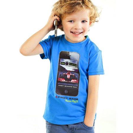 Funky XS shirt I-phone Race
