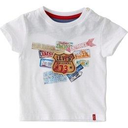 Levi's baby shirtje met nummerborden