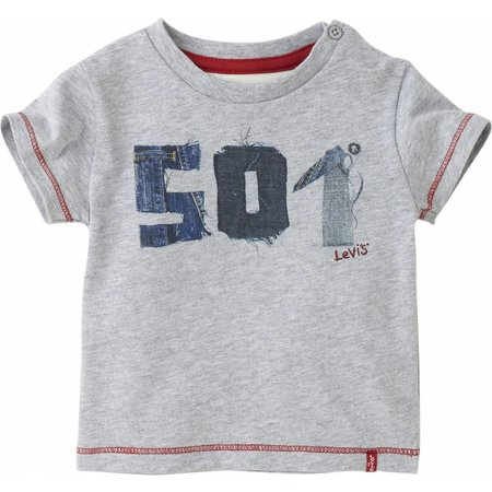Levi's Stoere babykleding: shirtje 501 original