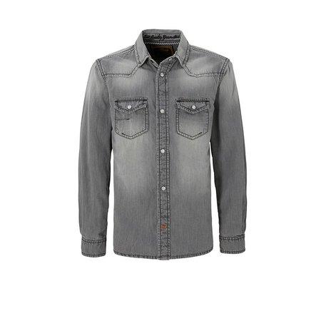 Cars Jeans overhemd Elba denim grey