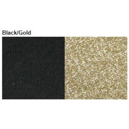 Bonnie Doon glitterpanty zwart met gouden glitters