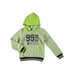 Bampidano boys hooded sweatshirt lime