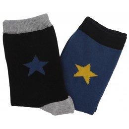 Molo twee paar sokken steel blue