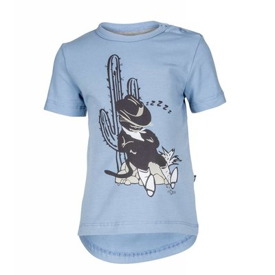 nOeser shirtje Perry the Puss blue