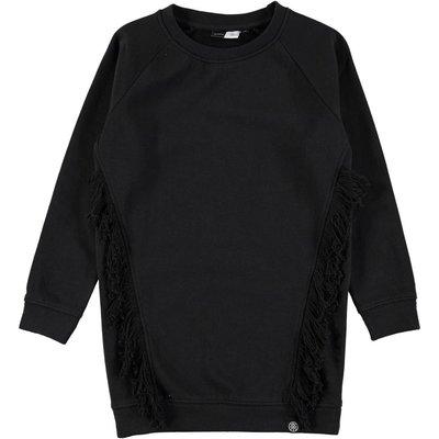 Molo stoere tuniek sweater met franje