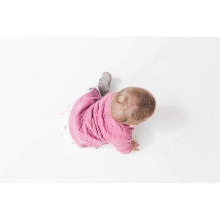 nOeser stoer baby jackje / sweatvest Jacky capitone pink