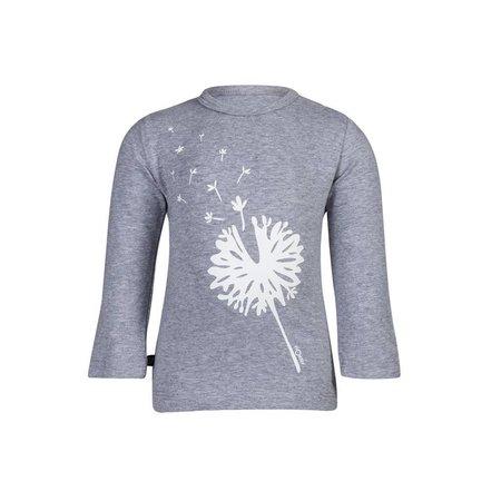 nOeser unisex shirtje blowflower grey