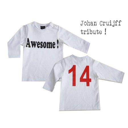 Roos & Tijn Design Awesome ! Johan Cruijff nr 14 shirt