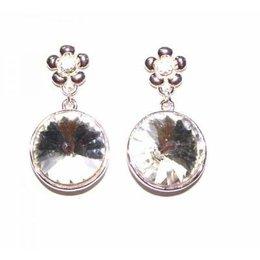Jozemiek Dames oorbellen Sparkling Diamond