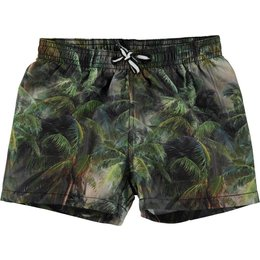 Molo jongens zwemshort  Niko Camo Palms Jungle