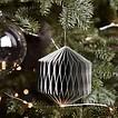 Papieren ornament Set van 3
