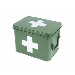 pt, (present time) medicijnenkistje  groen