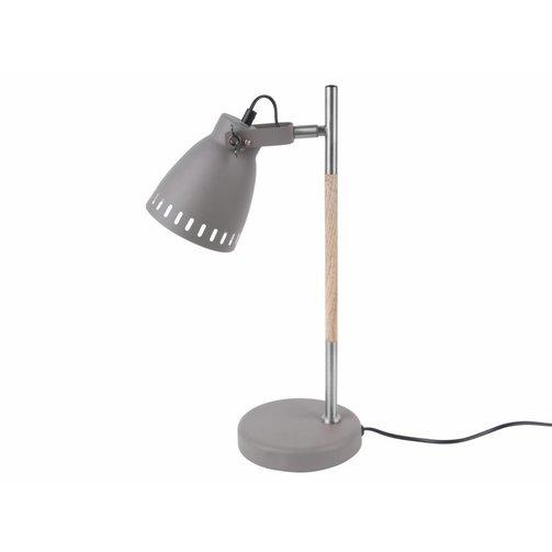Leitmotiv Bureaulamp mingle - grijs