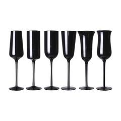 Bitossi Home Desigual champagneglazen zwart