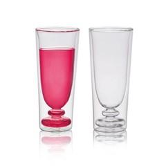 Bitossi Home Dubbelwandig glas Flute, set 2
