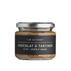 Lie Gourmet Chocolade spread met amandel en nootjes
