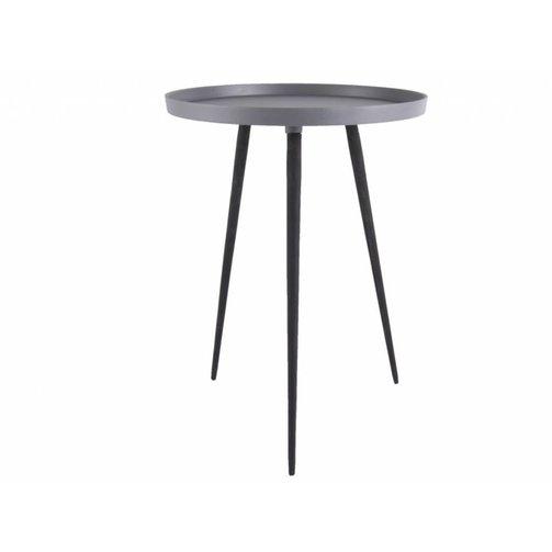 Leitmotiv Side table Nimble high grey