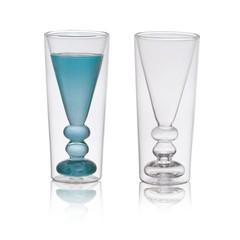Bitossi Home Dubbelwandig glas Liquore, set 2