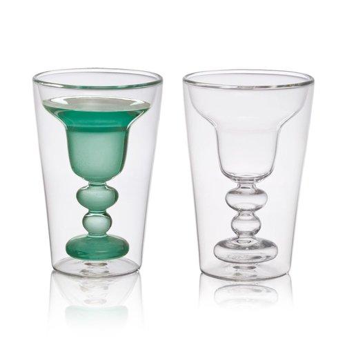 Bitossi Home Dubbelwandig glas Margaritha, set 2