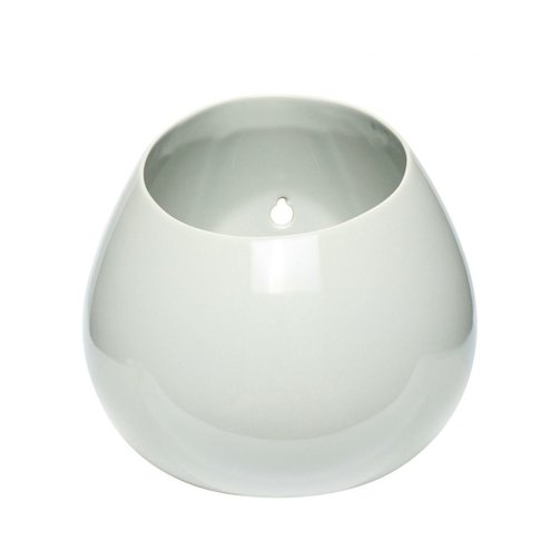 Hübsch Pot porselein wit
