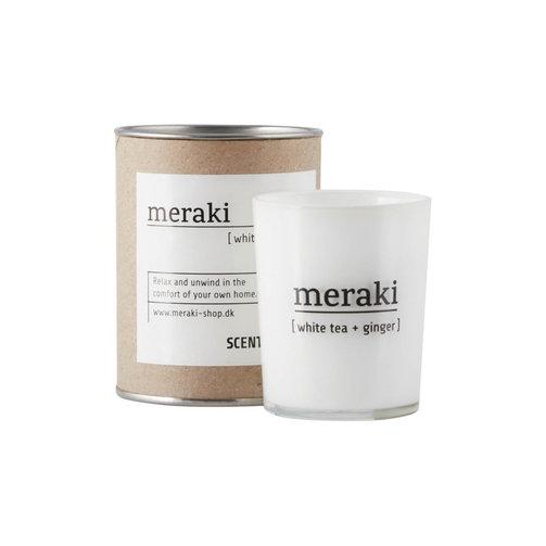 Meraki Geurkaars M White Tea & Ginger