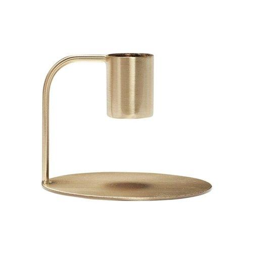 Hübsch Kandelaar metaal brass