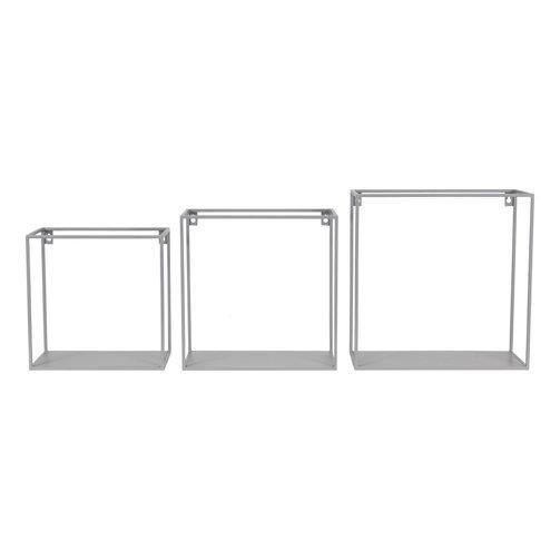 KidsDepot Wire wallbox grijs set 3 stuks