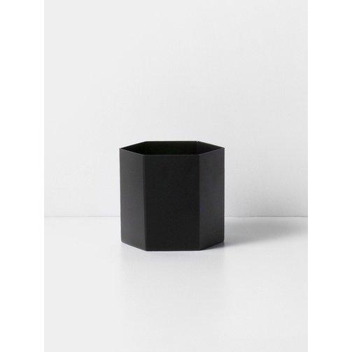 ferm LIVING Hexagon Pot Black - Large