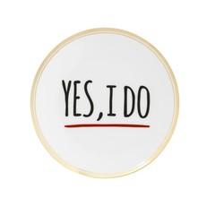 Bitossi Home Ontbijtbord  'Yes I Do' - 15 cm