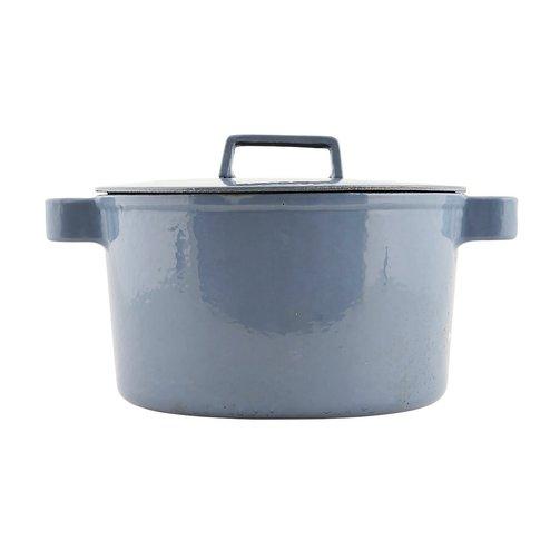 Nicolas Vahé Gietijzeren pan, blauw