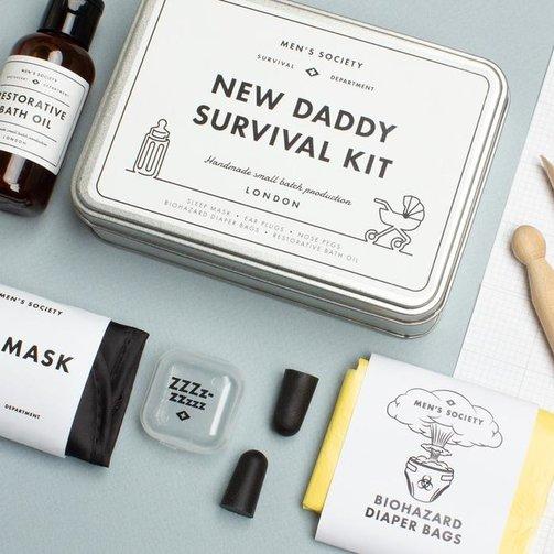 Men's Society New Daddy Survival Kit