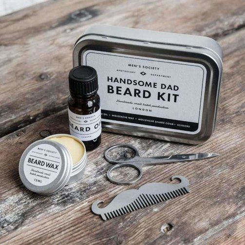 Men's Society Handsome Dad Beard Kit