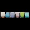 Bitossi Home Desigual gekleurde waterglazen, set van 6