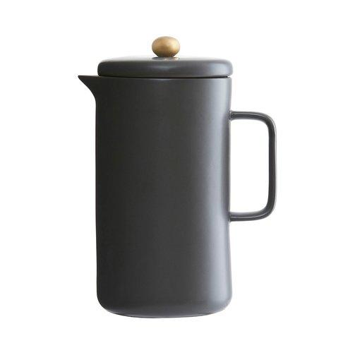 Koffiepot donker grijs