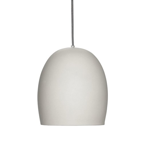 Hübsch Lamp keramiek grijs
