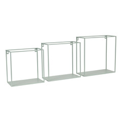 KidsDepot Wire wallbox seagreen set 3 stuks