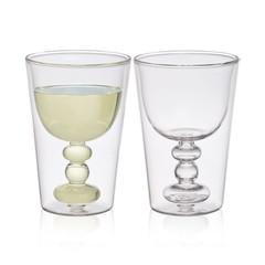 Bitossi Home Dubbelwandig glas Spritz, set 2
