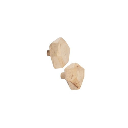 Leeff Wooden hooks Wout, set of 2