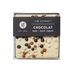 Lie Gourmet Witte chocolade met crunch