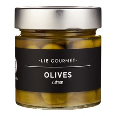 Lie Gourmet Lie Gourmet Olives Lemon (130 G)
