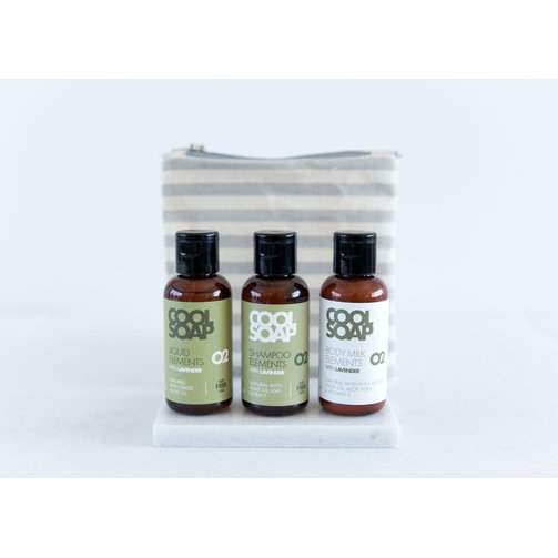 Cool Soap Cool Soap Travel Kit Elements 02 Lavendel