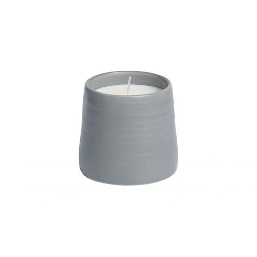 Leeff Mug Candle Mia grey