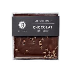 Lie Gourmet Donkere chocolade met kokos