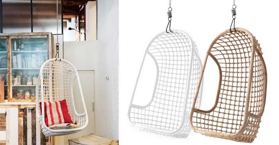 Hangstoel bij jou aan het plafond?