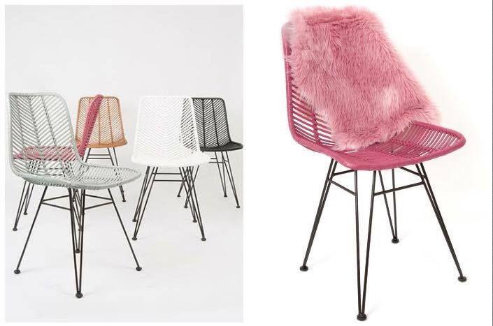 Bijzondere Rotan stoelen van Leitmotiv