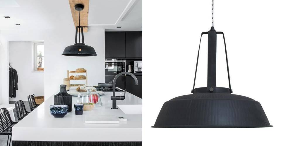 De industriele warehouse lamp van HKliving.
