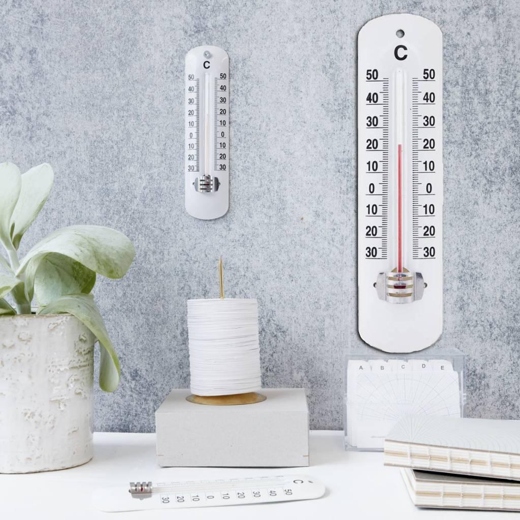 Nooit meer twijfelen wat de temperatuur is!