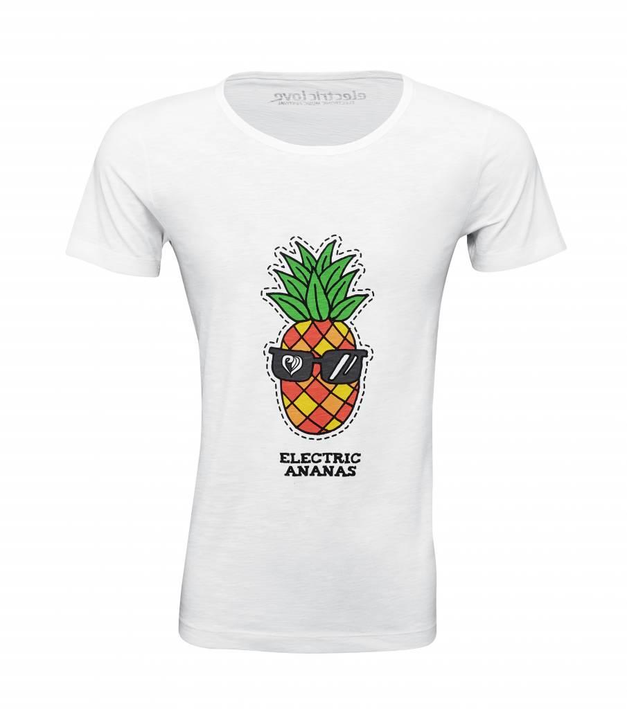 Shirt Electric Ananas white - Male